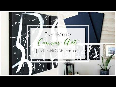 DIY Wall Art [in Just TWO Minutes!]