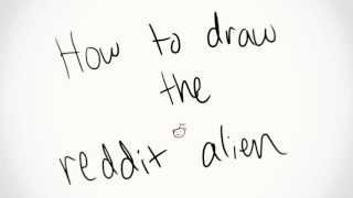 Tutorial - How to Draw the Reddit Alien