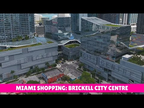 Florida Travel: Brickell City Centre: Shopping & Dining in Downtown Miami