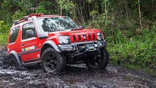 Repeat youtube video Transformação Jimny 4All em 4Sport - Etapa final