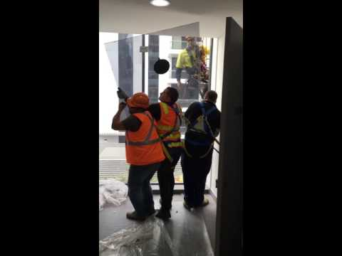 Commercial Glass Installation | Meriton Apartments Mascot
