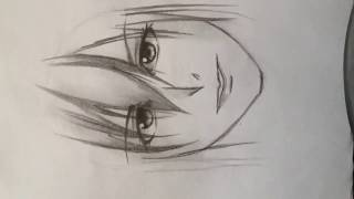 How to draw manga face