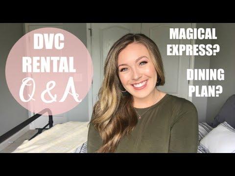 DISNEY VACATION CLUB RENTAL | Q&A