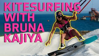 Spirit of Sport - Kitesurfing in Rio de Janeiro with Bruna Kajiya