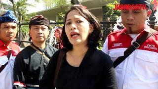 Aksi Penolakan Eksekusi Tanah Adat Cigugur Kuningan Jawa Barat