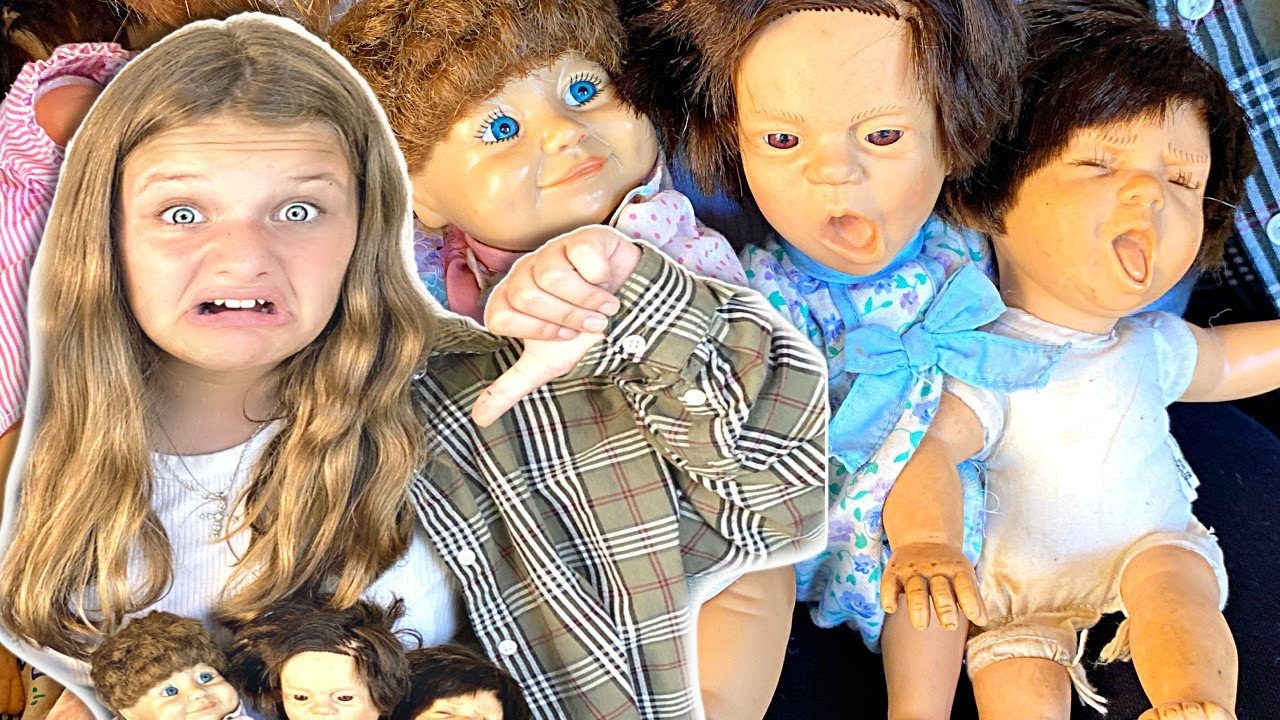 CREEPY DOLLS Surprises Me! Hide and Seek with DollMakers Dolls