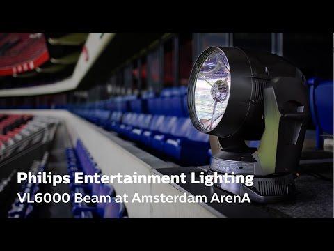 Philips Vari-Lite VL6000 Beam at Amsterdam ArenA