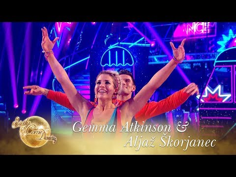 Favourite Dance: Gemma Atkinson & Aljaž Skorjanec American Smooth to Downtown - Final 2017