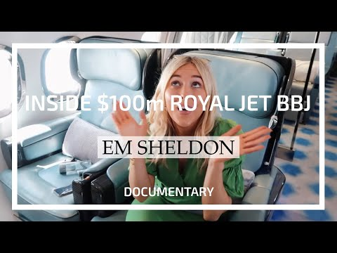 Em Sheldon: Inside $100m Royal Jet Boeing BBJ designed by Edése Doret