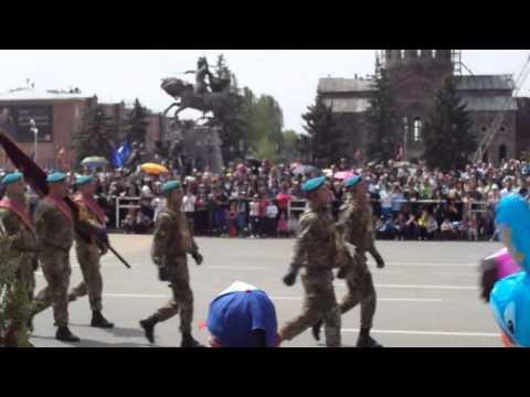 парад победы 2014 Гюмри, Армения