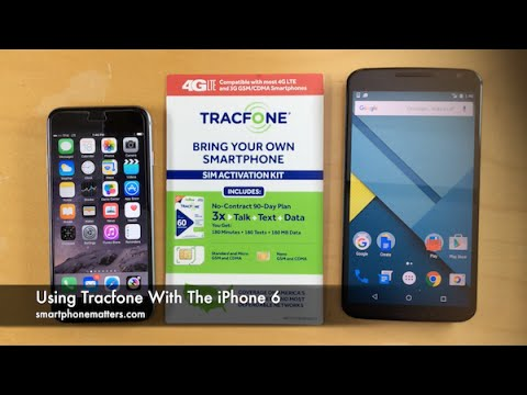 Using Tracfone With The iPhone 6
