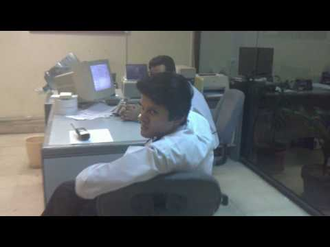 SV Staff in Karachi Traffic office