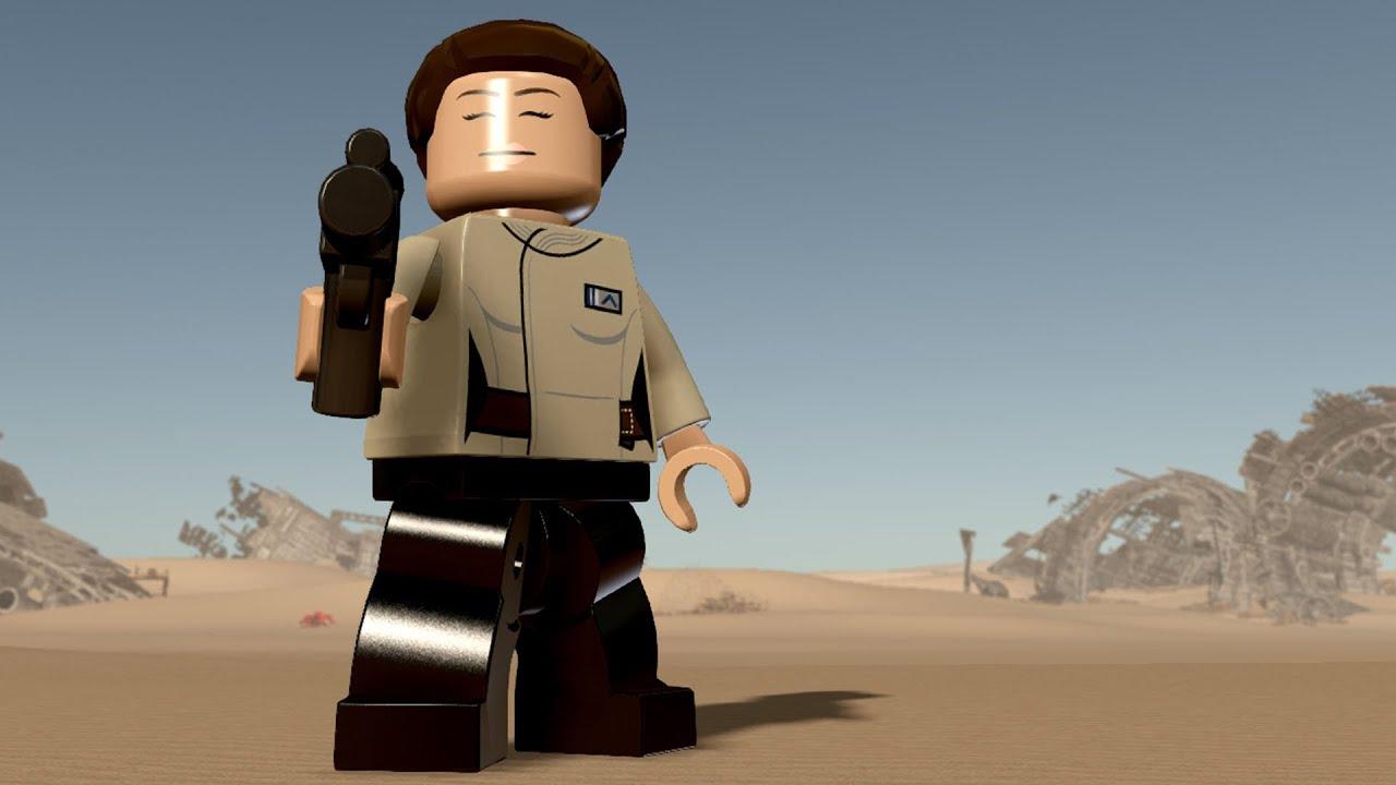 Star Wars Force Awakens 1080p: LEGO Star Wars: The Force Awakens - Korr Sella
