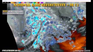 Geoengineering: Midwest Storm 04-27-14 - Origin