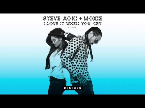 Steve Aoki & Moxie - I Love It When You Cry (Moxoki) [Club Killers Remix] [Cover Art]