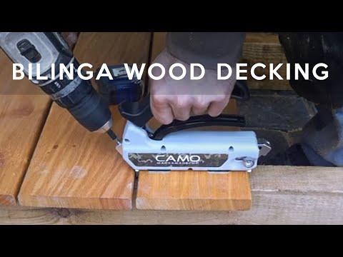 CAMO fasteners for BILINGA wood | Nematomų tvirtinimų sistema terasoms CAMO | www.mdsterasos.lt