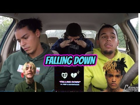 LiL Peep & XXXTENTACION - Falling Down (REACTION REVIEW) R.I.P.