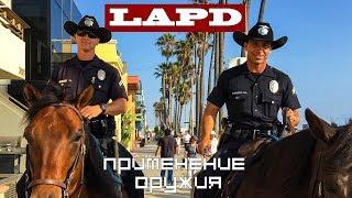 Брифинг LAPD: Опасная бритва против резиновой дубинки.