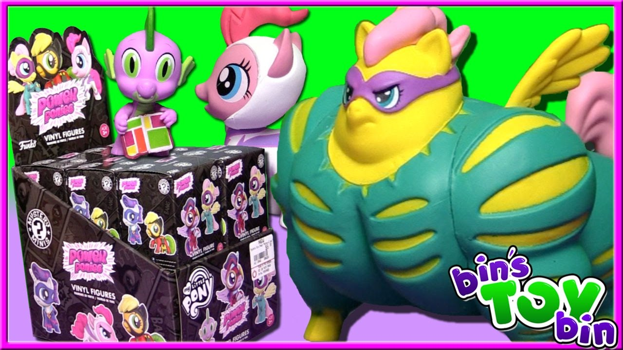 My Little Pony Power Ponies Funko Mystery Minis Full Case Opening