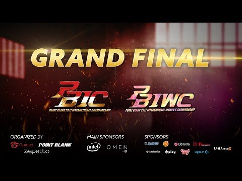 Galaxy (Indonesia) vs Vittoria-RockyRose (Thailand) - Grand Final PBIC-PBIWC 2017 Day 2