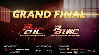 Grand Final PBIC-PBIWC 2017