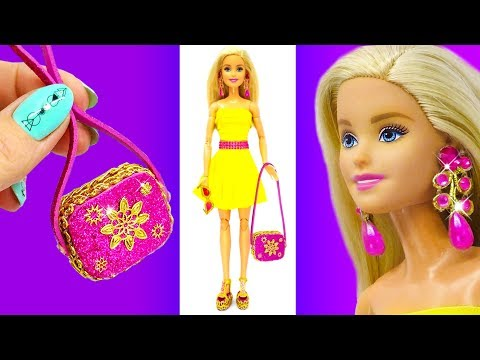 DIY Barbie Doll Set. Barbie Hacks and Crafts. How to Make Miniatures