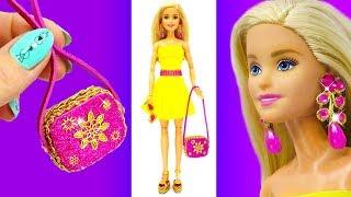 DIY Barbie Doll Set. Barbie Hacks and Crafts. How to Make Miniatures