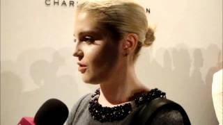 Kelly Osbourne at Charlotte Ronson Pre show interview MBFW NY SS 2012 Anastasia Lambrou Thumbnail