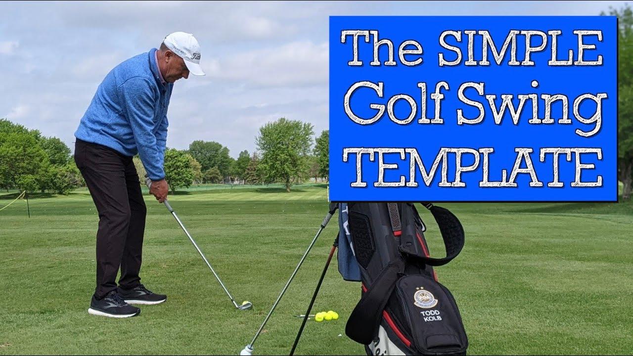How a Single Line Can Teach a Simple Golf Swing (VERTICAL LINE GOLF)