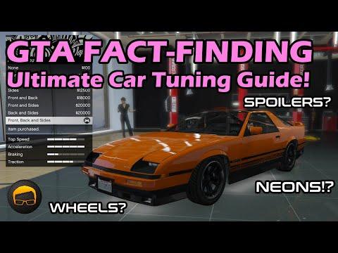 GTA Online Ultimate Car Tuning Guide! Upgrades, Wheels, Setups & More! - GTA 5 Fact-Finding #33