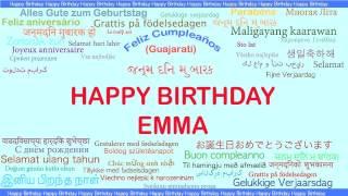 Emma   Languages Idiomas - Happy Birthday