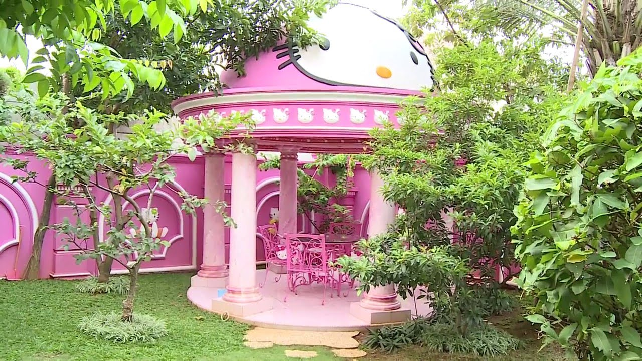 Rumah Hello Kitty Di Indonesia Youtube