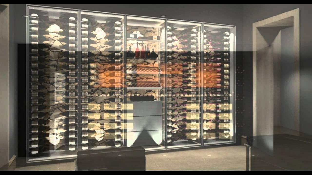 caves vins design sur mesure projets 3d 2011 2012 youtube