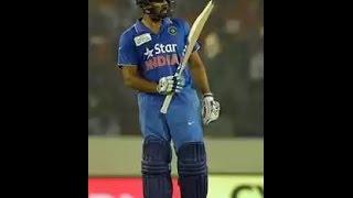 Bangladesh vs India icc T20 asia cup 2016 (Super batting Rohit Sharma's Highlights)
