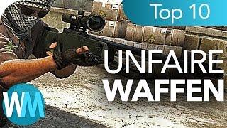 Top 10 der UNFAIRSTEN Multiplayer - WAFFEN