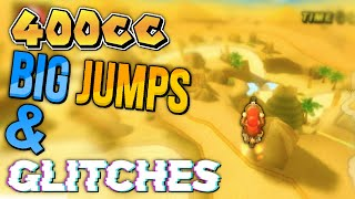 400cc Big Jumps and Glitches Compilation | Mario Kart Wii