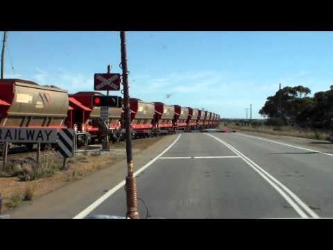 Iron Ore Train In Western Australia.