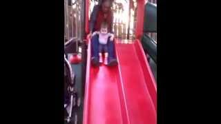 Kid's Castle Playground. Slide Full Of Fun