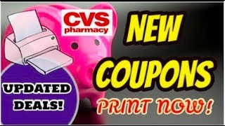 COUPON UPDATES:  NEW PRINTABLE COUPONS AND SAVINGSTAR OFFERS!!!