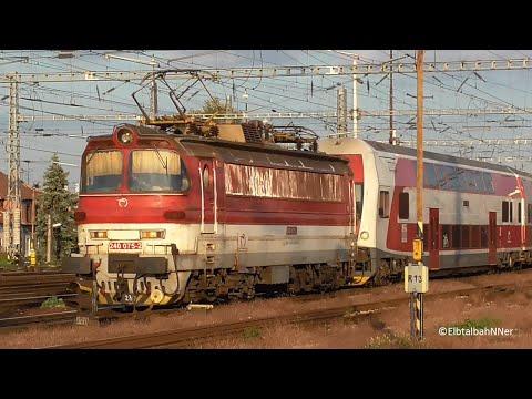 Bratislava Hl.st. S 383 110 (Macejko), Laminátka, RegioJet (628, 642, 643, ER20+DB DoSto), ČD 380