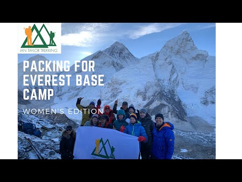 Everest base camp packing video   Laura Gravino Taylor