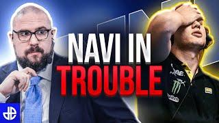NaVi SHOCKINGLY Bad | Ricнard Lewis Reacts