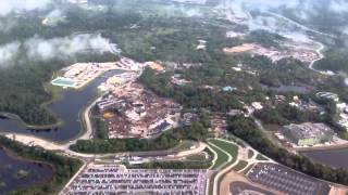pandora land of avatar construction from the air disney s animal kingdom 3 26 15