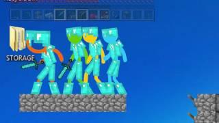 Человечки ПРОТИВ Minecraft!!!!! Windows7
