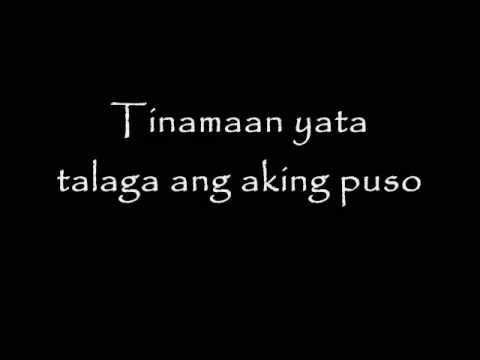 Sa iyong ngiti ako nahuhumaling, para lang sayo ang awit ng aking puso