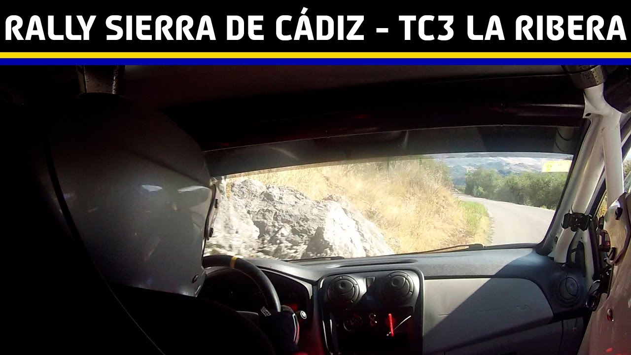 Download ONBOARD Rally Sierra de Cádiz TC3 - La Ribera   F.Cruz-A.Cruz   Dacia Sandero N3   (Salida de pista)