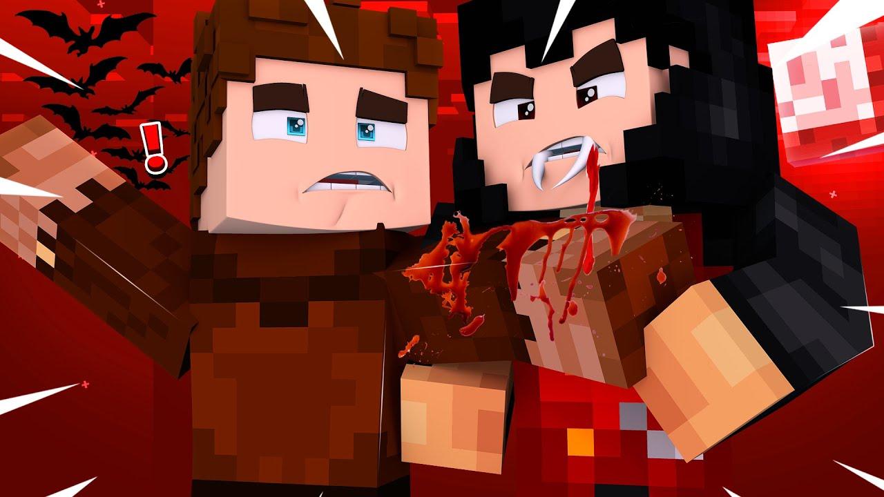 VAMPİRLER TARAFINDAN ISIRILDIM! 😱 - Minecraft