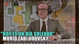 Hoy es un día soleado en México. ¡Ah y se murió Jacobo Zabludovsky!