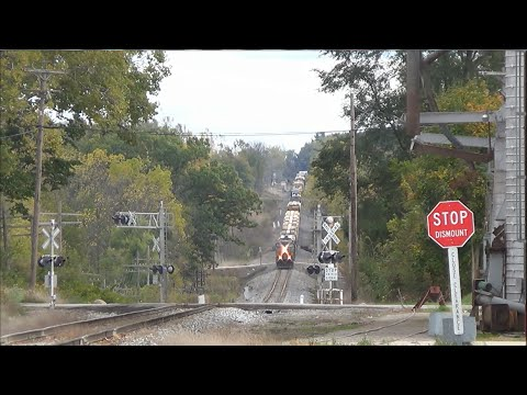 TRRS 397: CSX Freight Train at Lake Odessa & the Big Dipper!