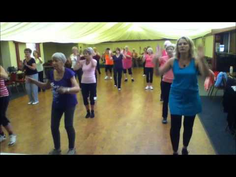 'Pretty Woman' Bollywood inspired Zumba Gold fitness routine